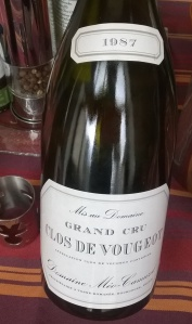 Clos de Vougeot Méo-Camuzet 1987