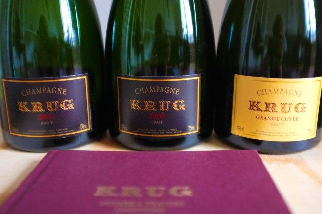 Cuvées Champagne Krug