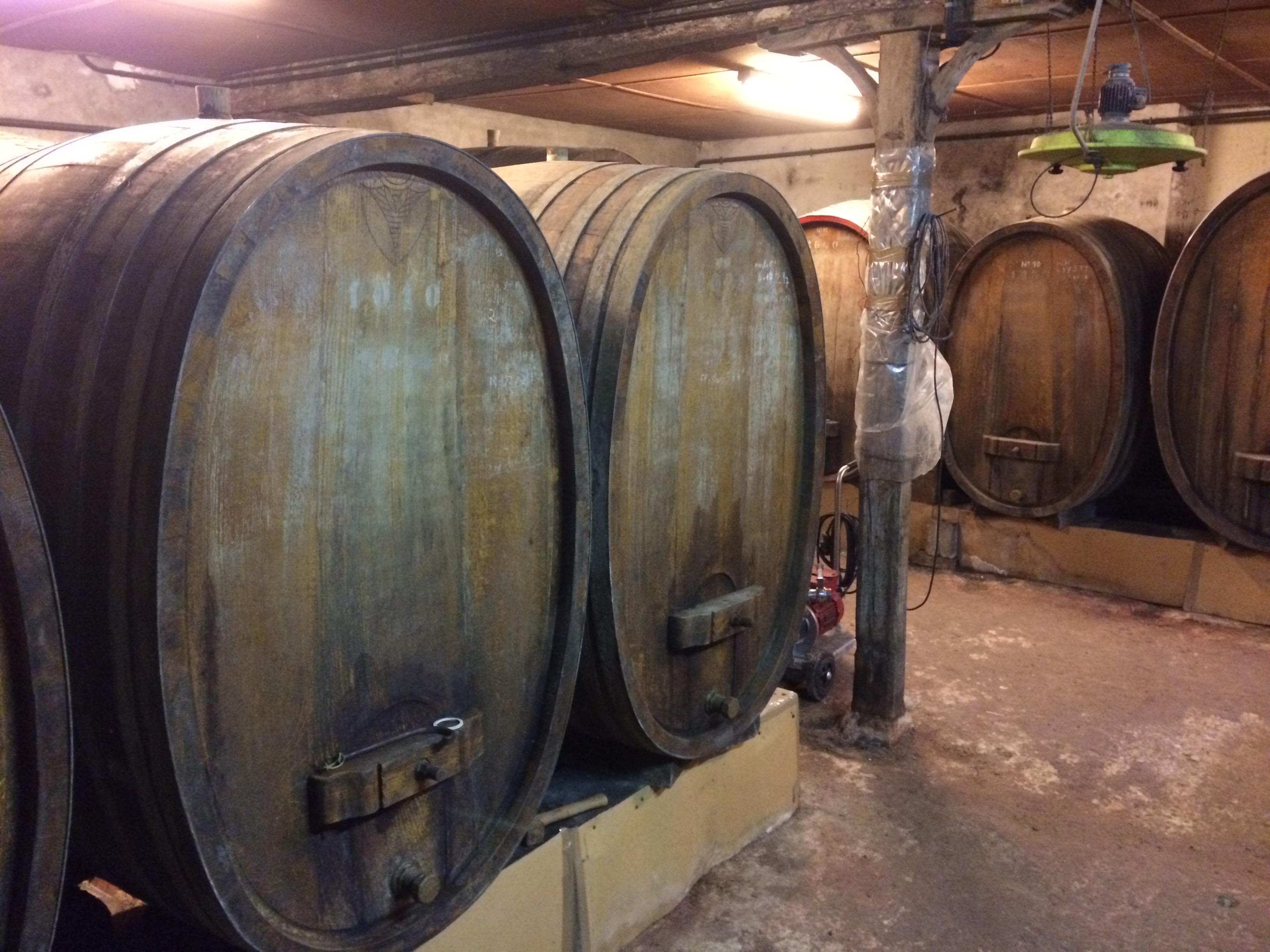 Fallet Prevostat wine tanks