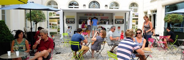 bar éphémère l'été des vignerons - syndicat général des vignerons de champagne