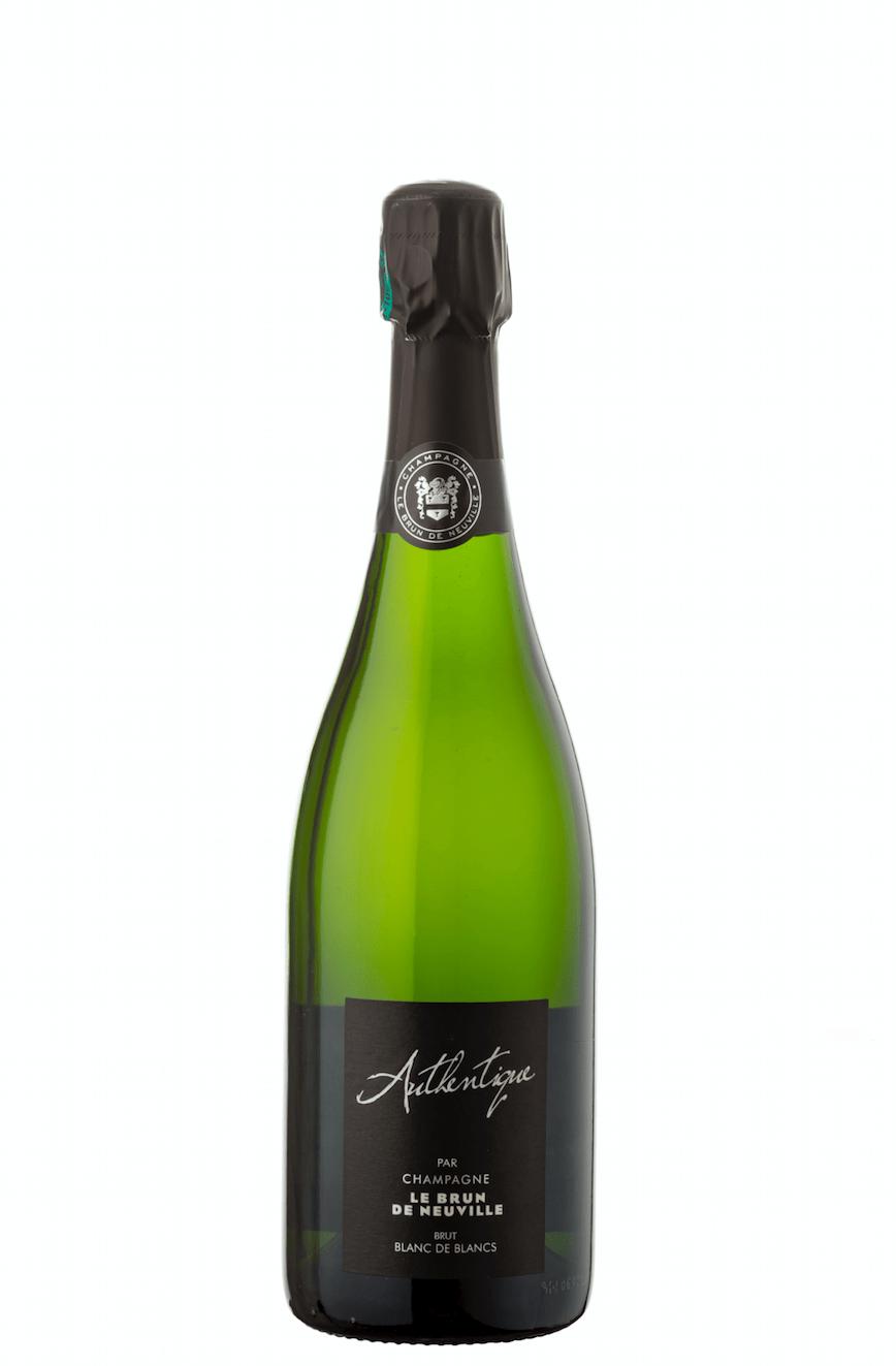 Champagne le brun de neuville authentique blanc de blancs - champagne de vignerons