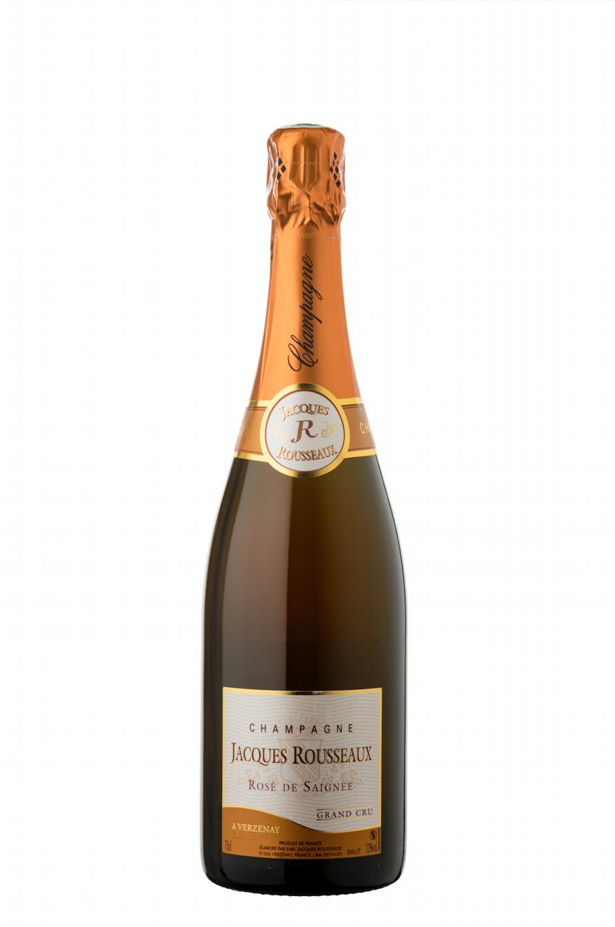 Rosé de Saignée Champagne Jacques Rousseaux Grand Cru Verzenay