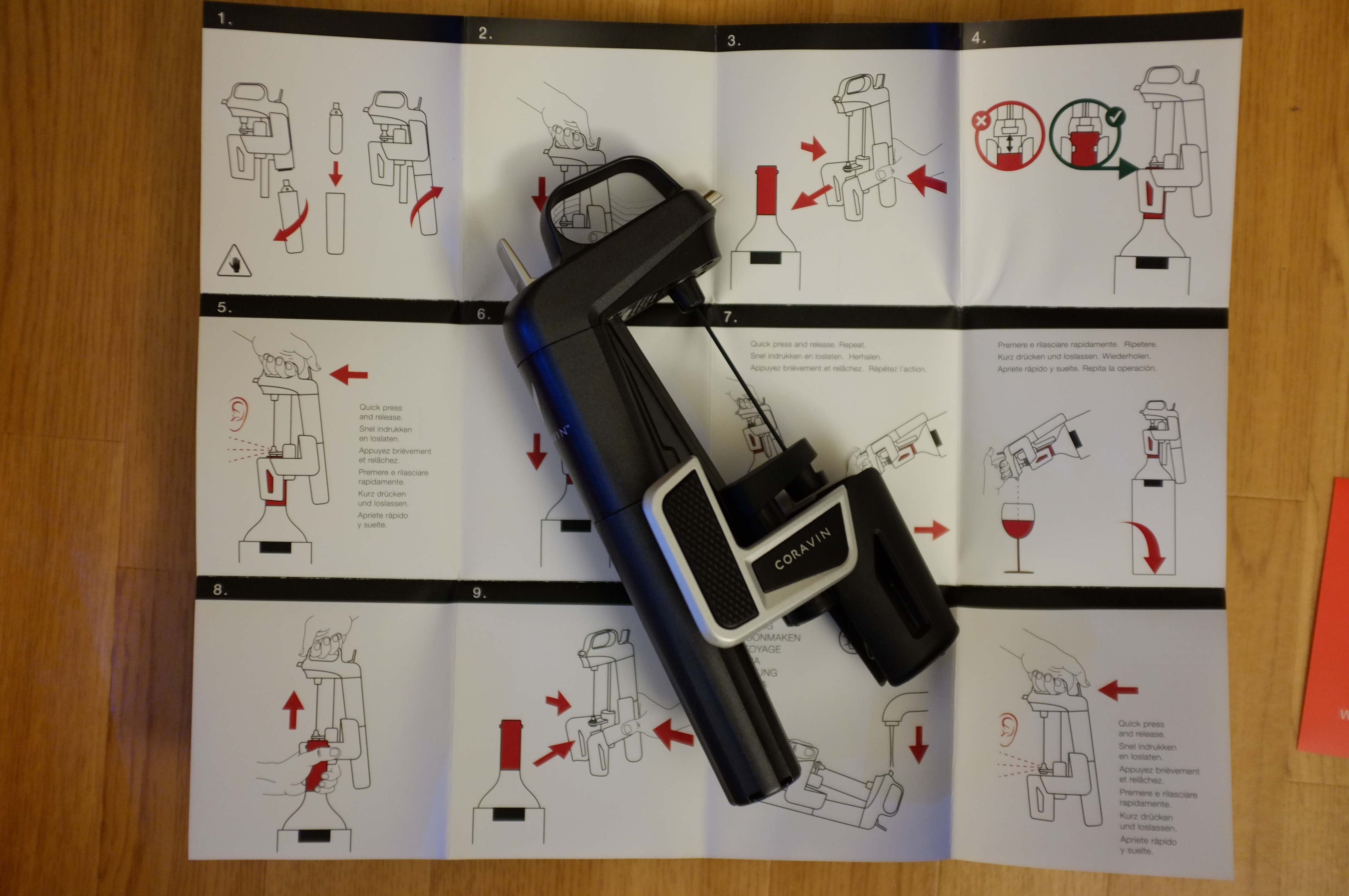 Coravin model Two unboxing