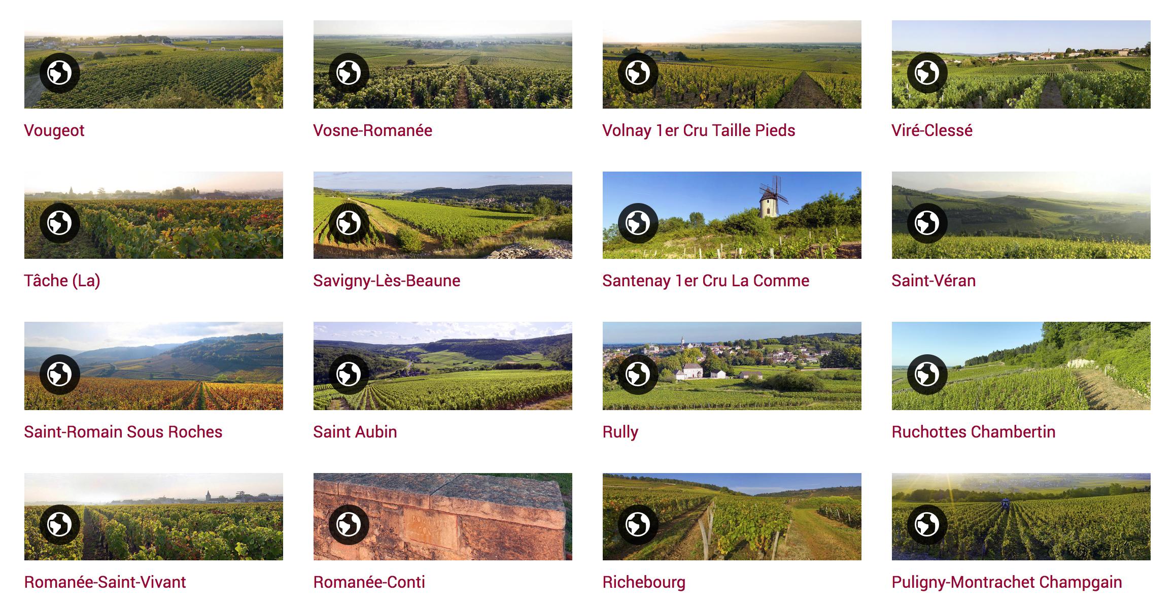 Panorama 360° Vignoble Bourguignon
