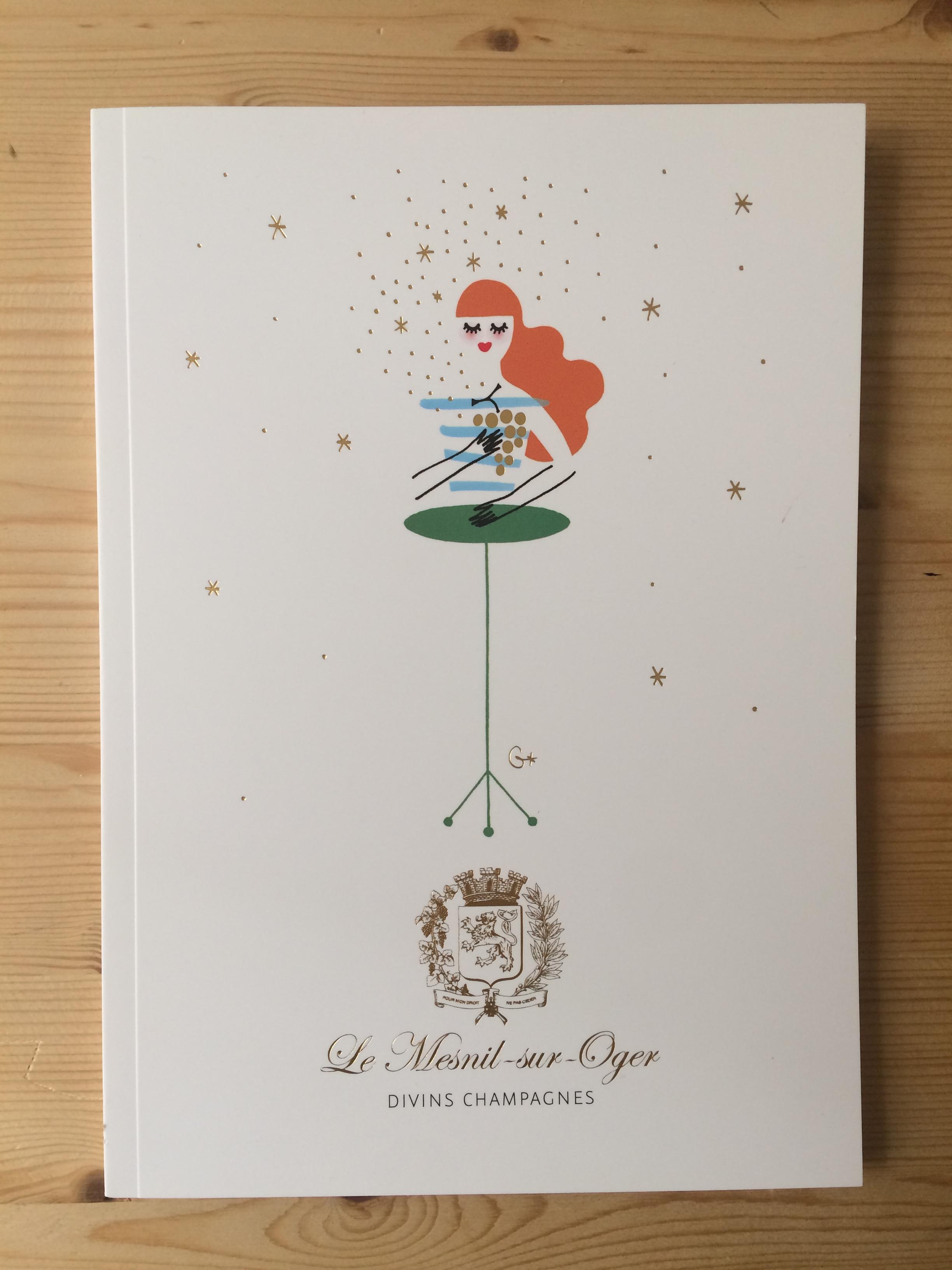 Livre Divins Champagnes mesnil sur oger