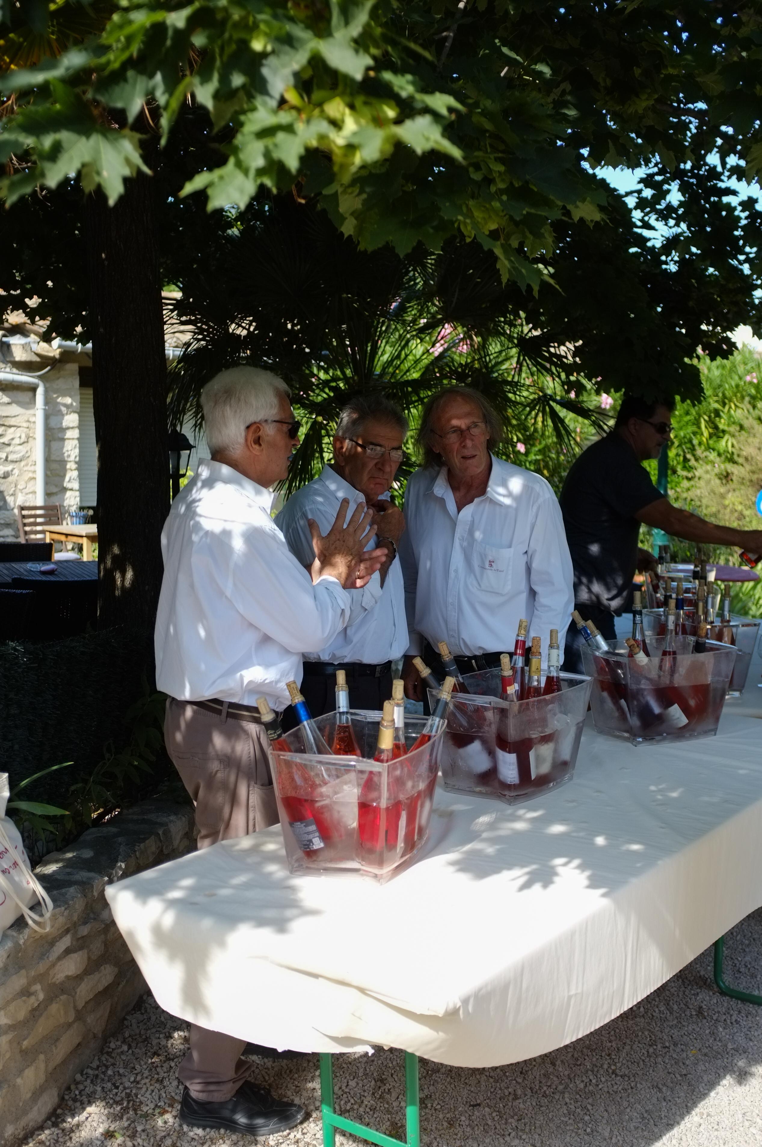 Couleur Tavel atelier dégustation verrines sélection vins tavel.jpg