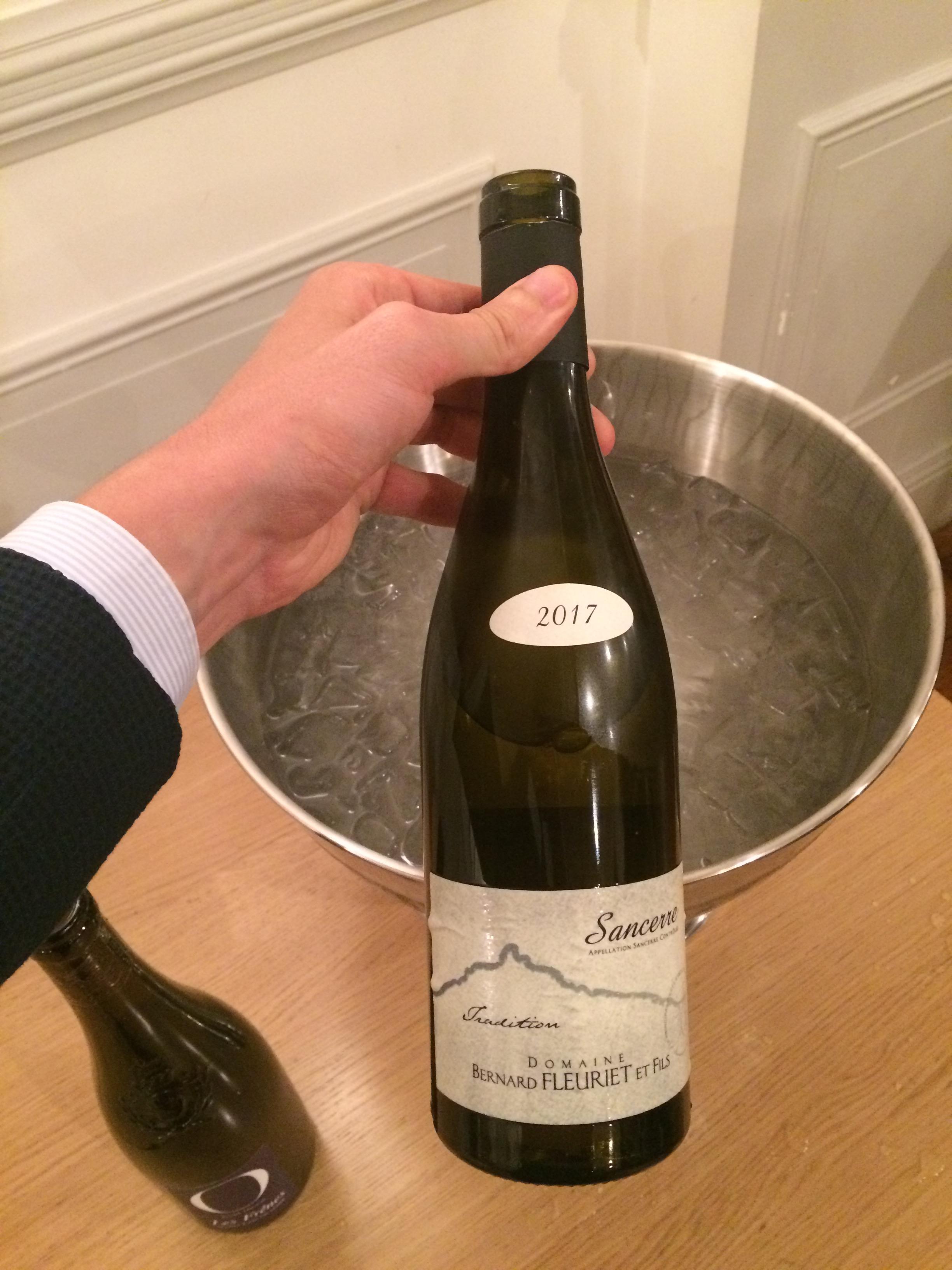 Domaine fleuriet tradition 2017 Sancerre foire aux vins monoprix 2018