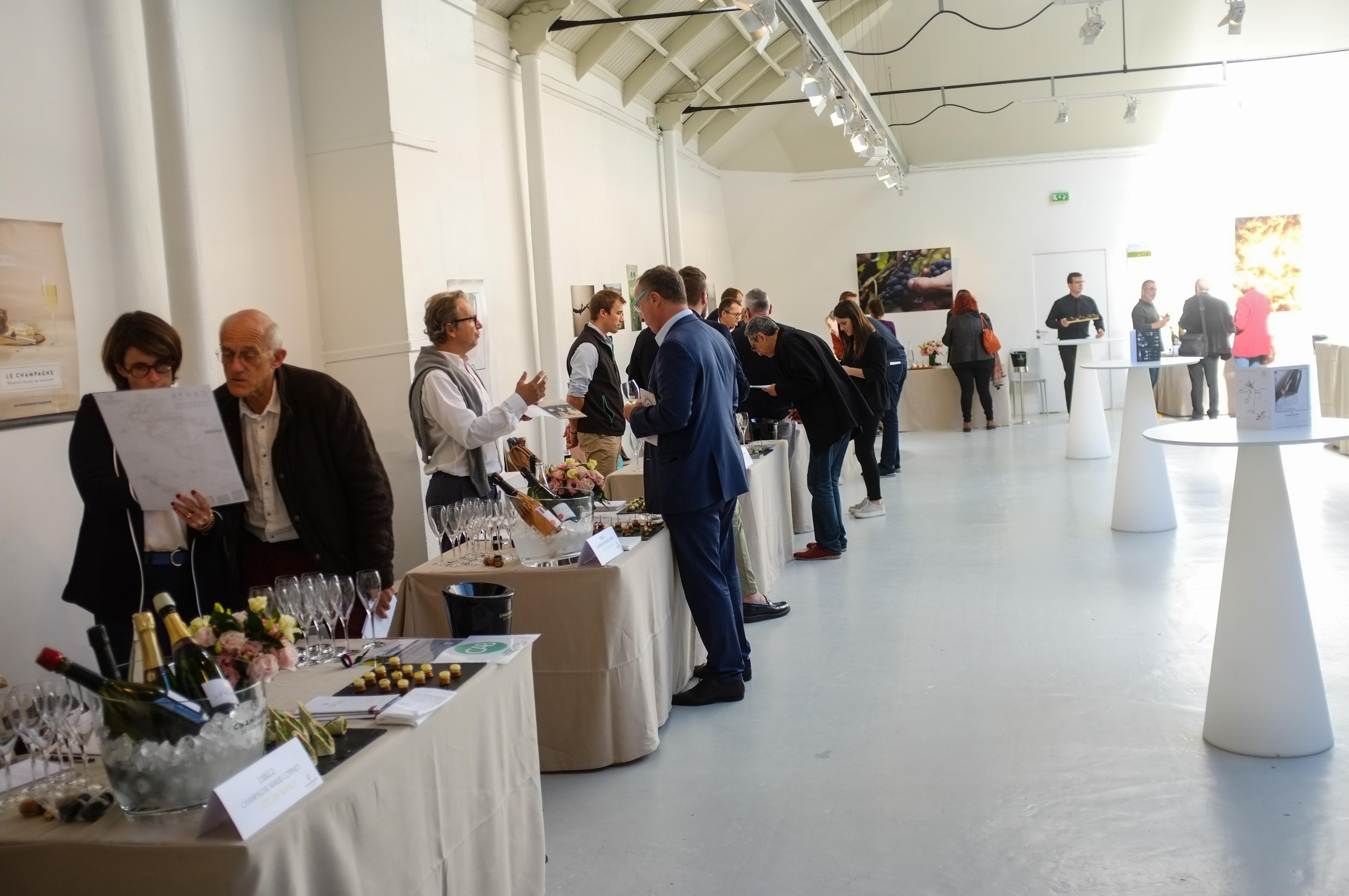 Grande dégustation 2018 champagne de vignerons Espace commines