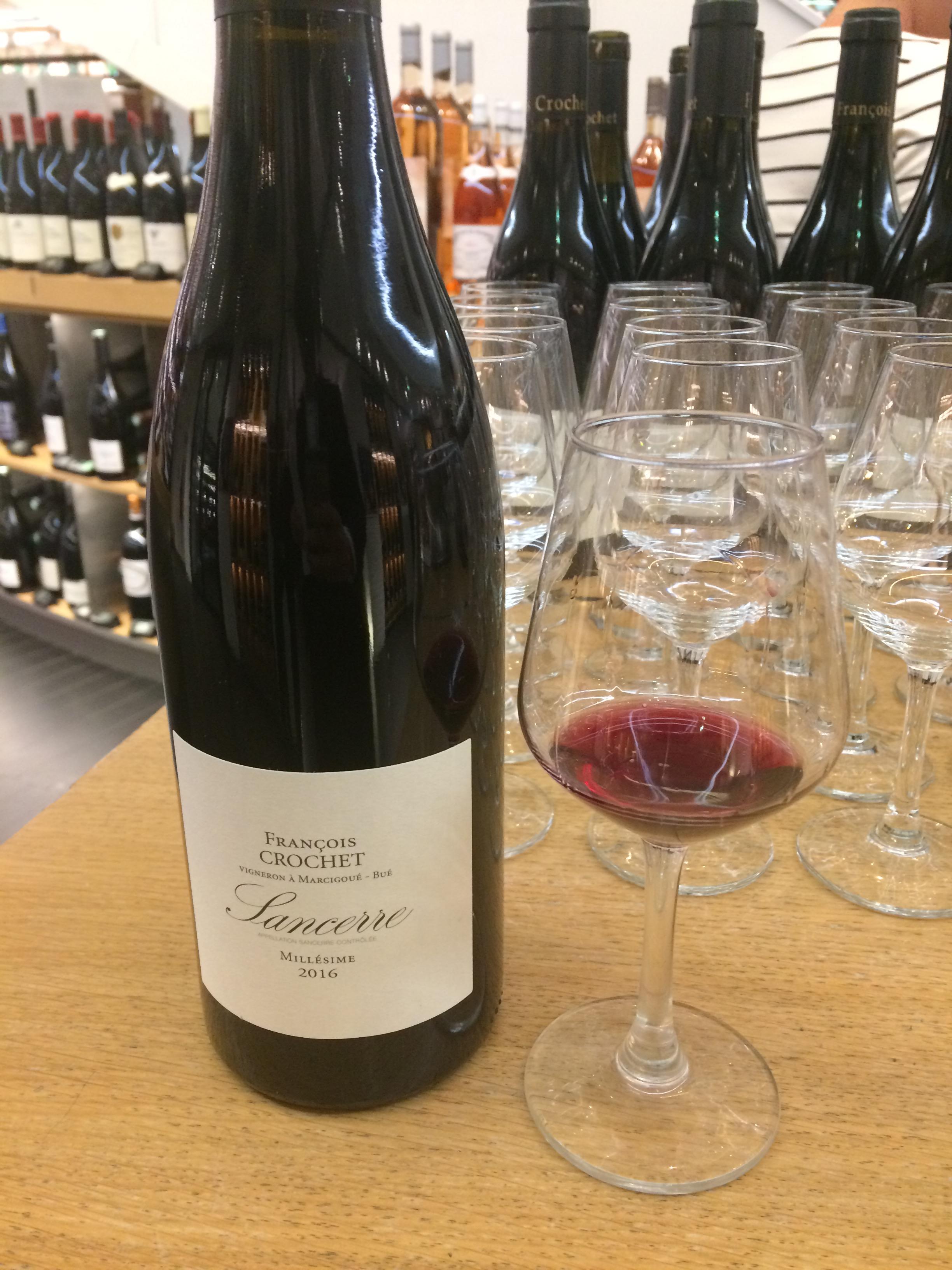 Sancerre 2016 domaine François Crochet foire aux vins 2018 la grande épicerie